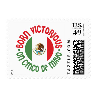 Born Victorious Cinco De Mayo Stamps