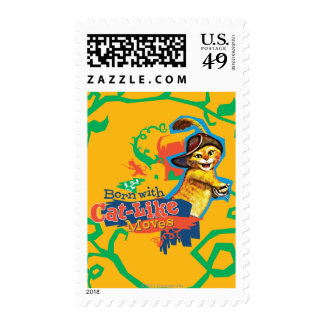 Born With Cat-Like Moves Postage Stamps
