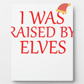 born with elves, gift elf, christmas, fairy shirt plaque