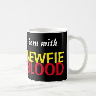 Born With Newfie Blood Mug