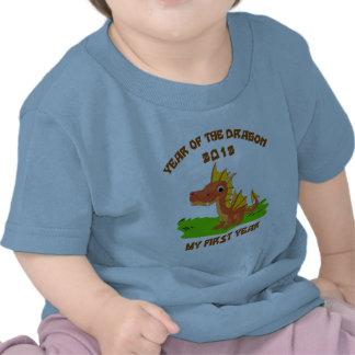 Born Year of The Dragon 2012 Baby T-Shirt Shirt