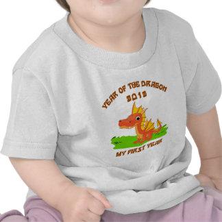 Born Year of The Dragon 2012 Baby T-Shirt Shirts
