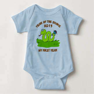Born Year of The Snake 2013 Baby Bodysuit