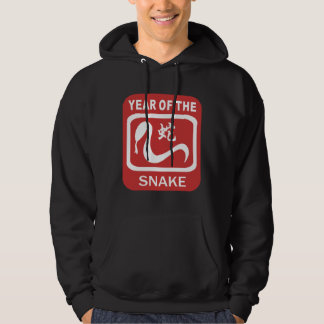 Born Year of The Snake Hooded Sweatshirt