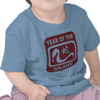 Born Year of The Snake T-shirts