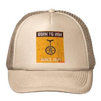 Born you the Born Run to run Trucker Hat