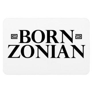 Born Zonian magnet - Panama Canal Zone