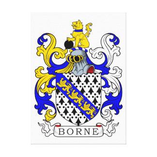 Borne Coat of Arms I Canvas Print