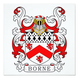 Borne Coat of Arms III Card