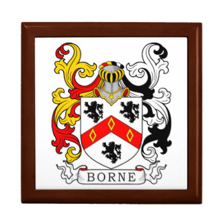 Borne Coat of Arms IV Trinket Boxes