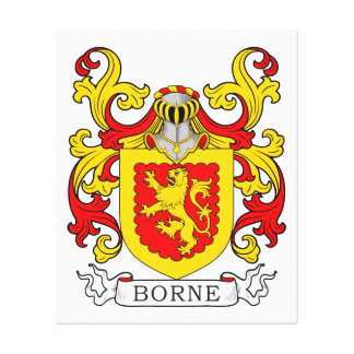 Borne Coat of Arms V Canvas Print