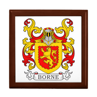 Borne Coat of Arms V Jewelry Boxes