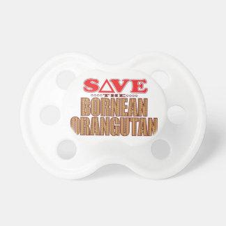 Bornean Orangutan Save Pacifier