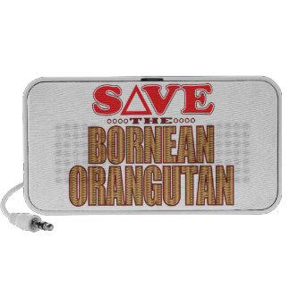 Bornean Orangutan Save Portable Speaker