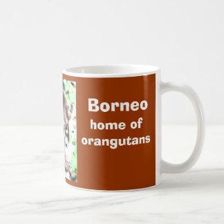 Borneo Island of Orangutans Coffee Mug