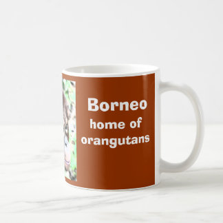 Borneo Island of Orangutans Classic White Coffee Mug