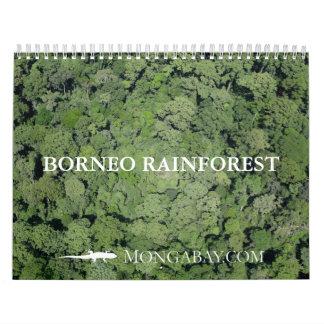 Borneo Rainforest Calendar
