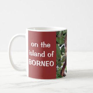 Borneo Rainforest Orangutan Wildlife Coffee Mug