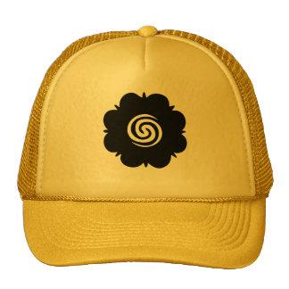 Borneo Rose Trucker Cap Trucker Hat