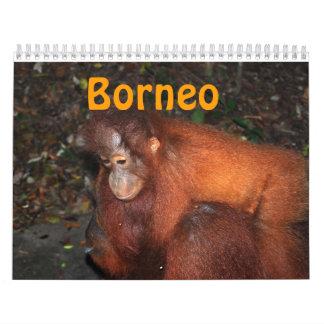 Borneo Travel and Orangutans Calendar