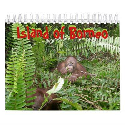 Borneo Wall Calendar