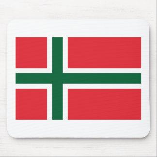 Bornholm Amt Flag Mousepad