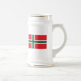 Bornholm Amt Flag Mug