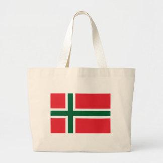 Bornholm Amt Flag Tote Bag