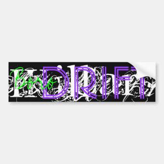 BORO DRIFT , Grape Car Bumper Sticker