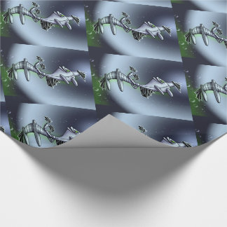 BORO SURFY ROBOT Wrapping Paper