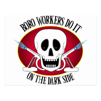 Boro Workers Do It...... Postcard
