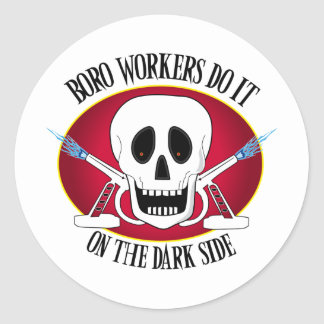 Boro Workers Do It...... Stickers