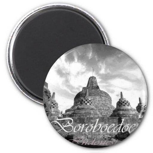Boroboedoer Tample series of Fridge Magnets