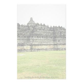 Borobudur del siglo IX, Stupa budista, Java, Indon Papelería De Diseño
