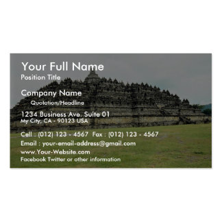 Borobudur del siglo IX, Stupa budista, Java, Indon Tarjetas De Visita