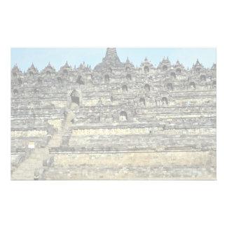 Borobudur, Java, Indonesia Papeleria Personalizada