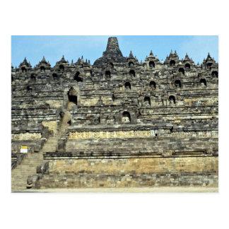 Borobudur, Java, Indonesia Postcard
