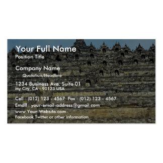Borobudur, Java, Indonesia Tarjeta De Visita