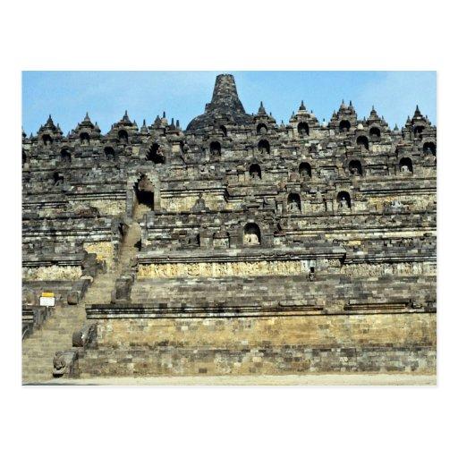 Borobudur, Java, Indonesia Tarjetas Postales