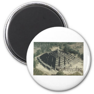 Borobudur Temple Screnary Magnet
