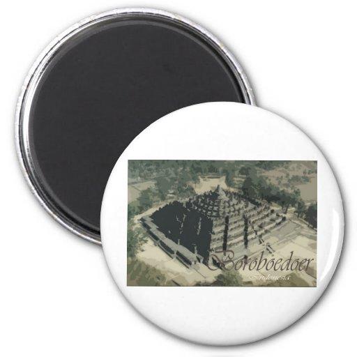 Borobudur Temple Screnary Magnets