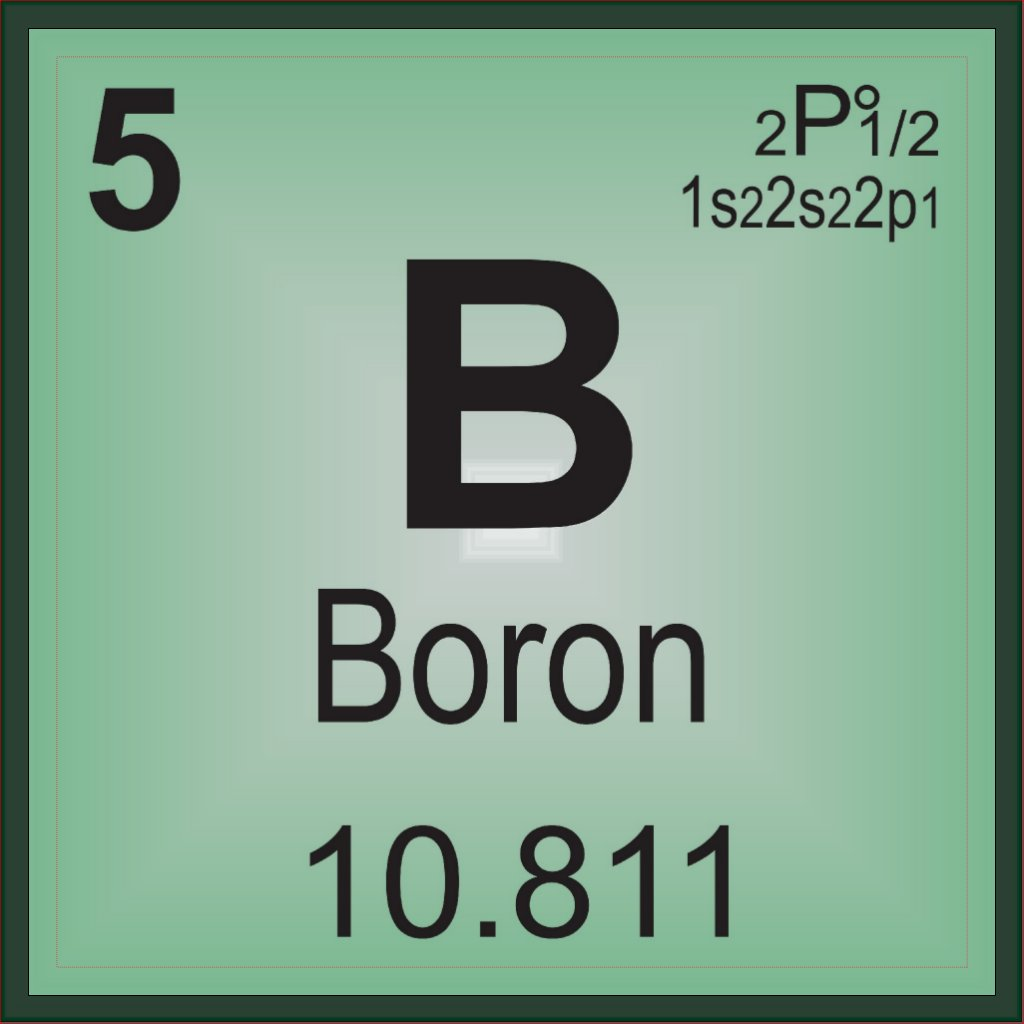 Boron periodic table symbol view symbol buycottarizona