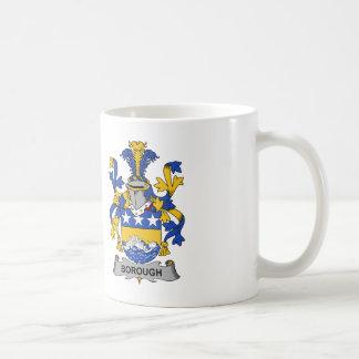 Borough Family Crest Coffee Mug