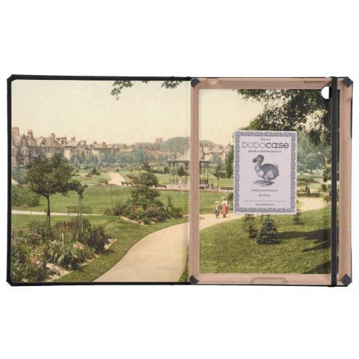 Borough Gardens, Dorchester, Dorset, England iPad Folio Case