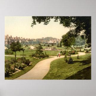 Borough Gardens, Dorchester, Dorset, England Poster