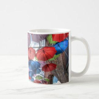 Borough Market umbrella art, London Coffee Mug