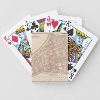Borough of the Bronx map Bicycle Playing Cards