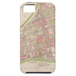 Borough of the Bronx map iPhone SE/5/5s Case