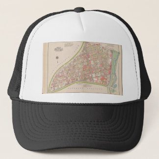 Borough of the Bronx map Trucker Hat