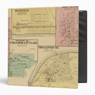 Boroughs of Freedom and St Clair with Philippsburg Binder
